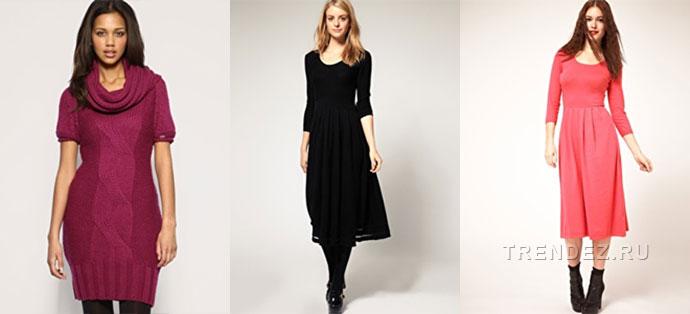 Весенние и летние вязаные платья 2013 года модные в этом сезоне
