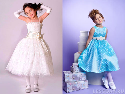 Детские платья на выпускной 2013