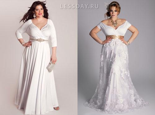 Свадебные платья 2013 для полных женщин следует выбирать исходя из особенностей фигуры, то есть вы должны подобрать модель, которая подчеркнет достоинства и
