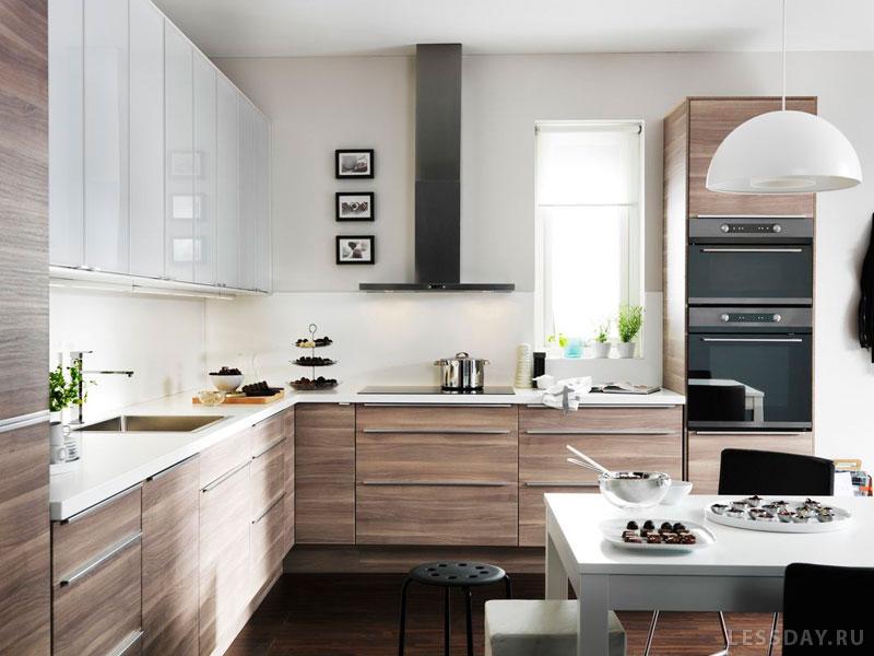 Кухни икеа в интерьерах