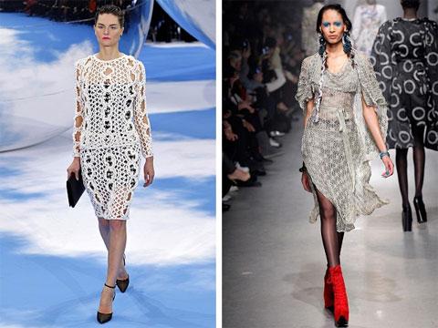 Вязаные платья для зимы / вязание спицами платье для