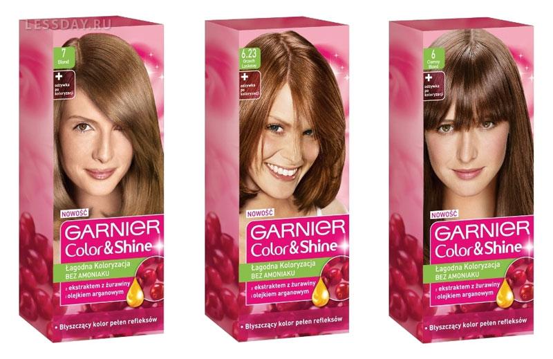 Краска для волос гарньер колор шайн палитра цветов фото
