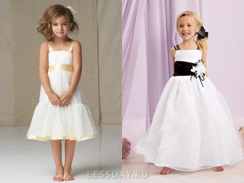 Платья на выпускной детские короткие