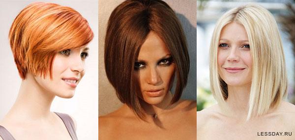 Стильные стрижки на средние волосы 2015 фото женские.