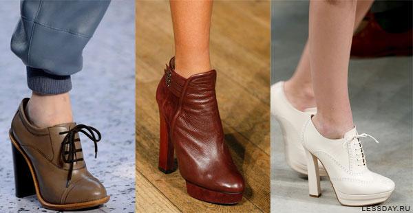 осенние туфли женские 2015