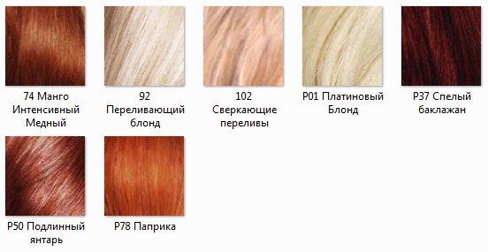 Краска для волос лореаль преферанс палитра отзывы