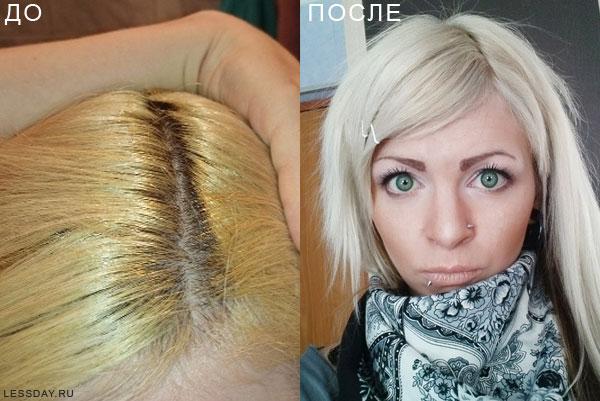 пепельно русый краска гарньер для волос