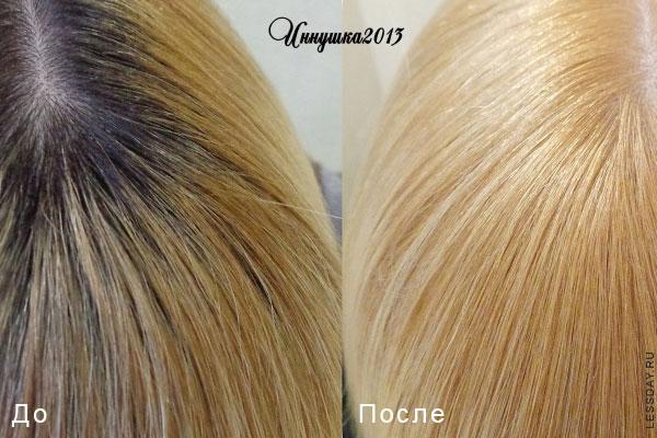 краска для волос 8.13 отзывы с фото
