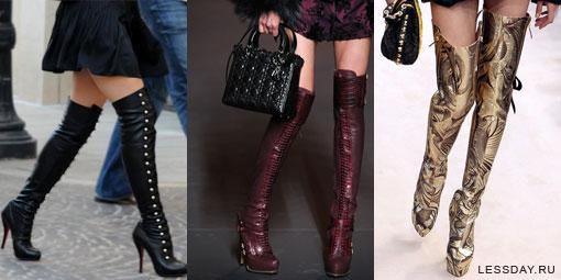 Модные женские сапоги на весну 2 16 года: тренды и