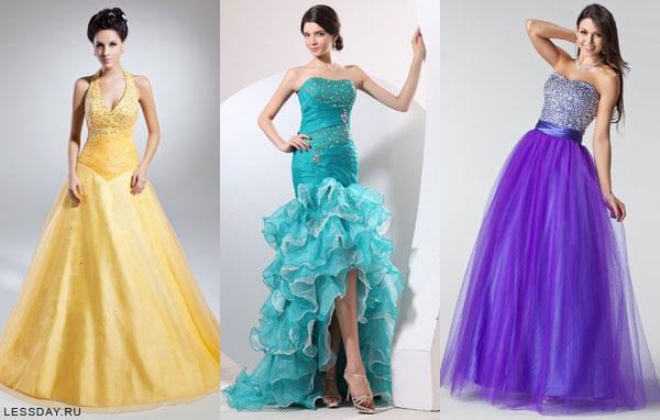 новые вечерние платья 2009 год в пензе