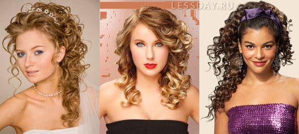 самые модные прически на выпускной 2014 на длинные волосы
