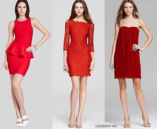 Красные платья 2014  фото вечерних и свадебных моделей 6ecf81a8b0793