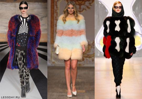 Самые модные модели и фасоны шуб сезона Зима 2014-2015, фото