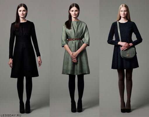 Платья осень-зима 2014-2015, фото