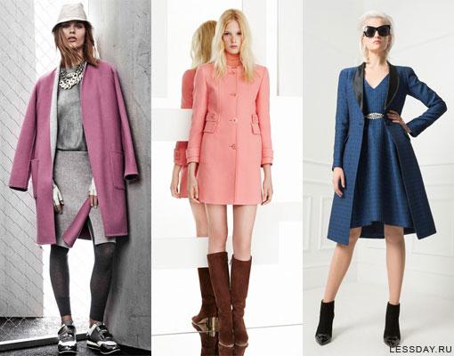 3816a59ca01d Модное зимнее пальто 2014-2015  фото моделей пальто с мехом, меховым ...