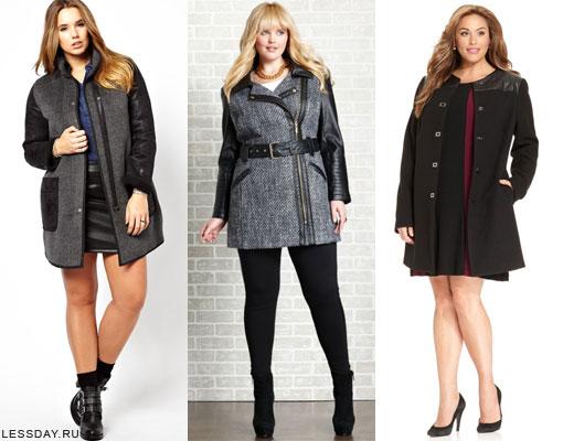 1c07165d6465 Мода для полных женщин осень-зима 2014-2015: фото одежды для полных