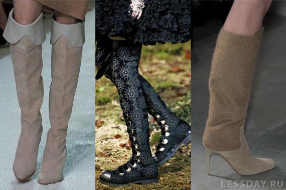 Модные сапоги весна-лето 2 16: фото обзор - мода 2 15