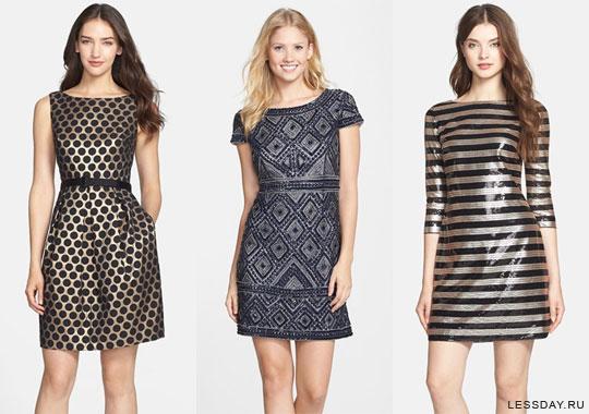 Модный женственный образ весна - лето 2015-платья-рисунок