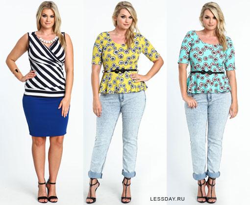 Модные Блузки 2015 Для Полных Доставка