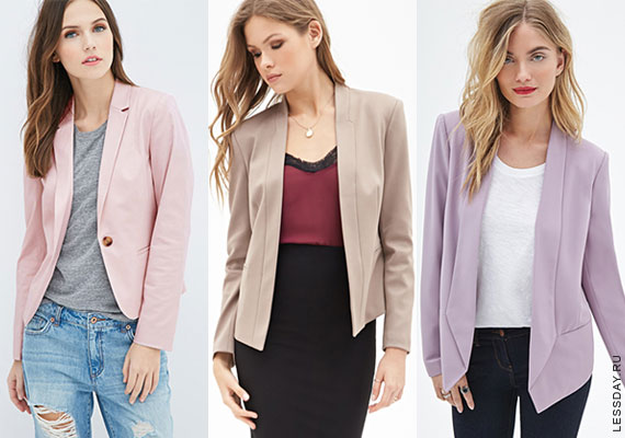9e421ca07e3c Модные женские пиджаки 2015: фото блейзеров и жакетов