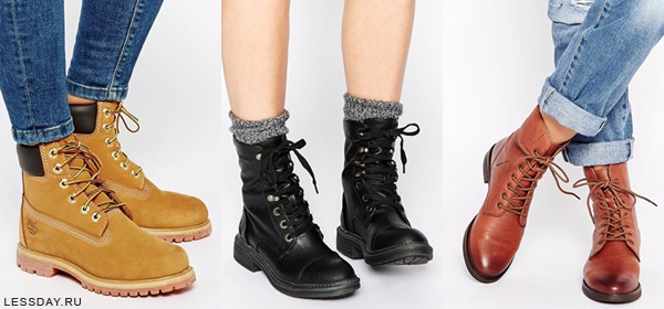модные ботинки женские осень 2016 фото