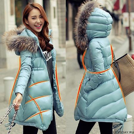 Зимние пуховые пальто женские в интернет магазине