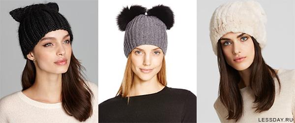 модные шапки 2016 женские фото