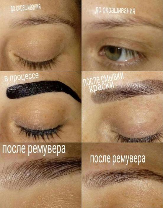 Инструкция по применению краска для бровей и ресниц estel
