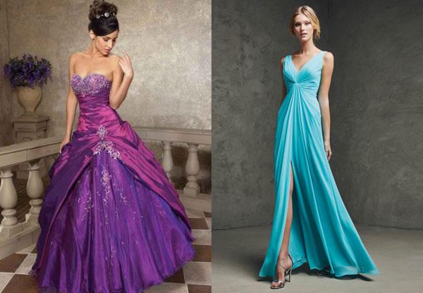 Цветные свадебные платья 2016 года