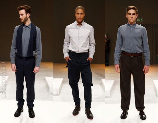 ec680510a66 Законодатели моды предлагают модникам огромный выбор прямых зауженных  моделей. Актуальными будут брюки с заниженным «шаговым швом». Кстати